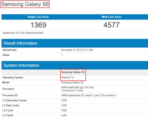 samsung galaxy s6 ed s6 edge nougat android 7.0