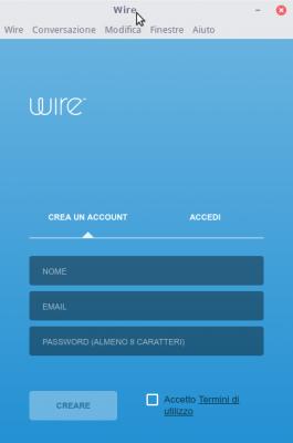 Wire in italiano