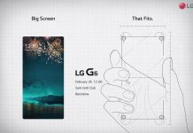LG G6 Mobile World Congress MWC